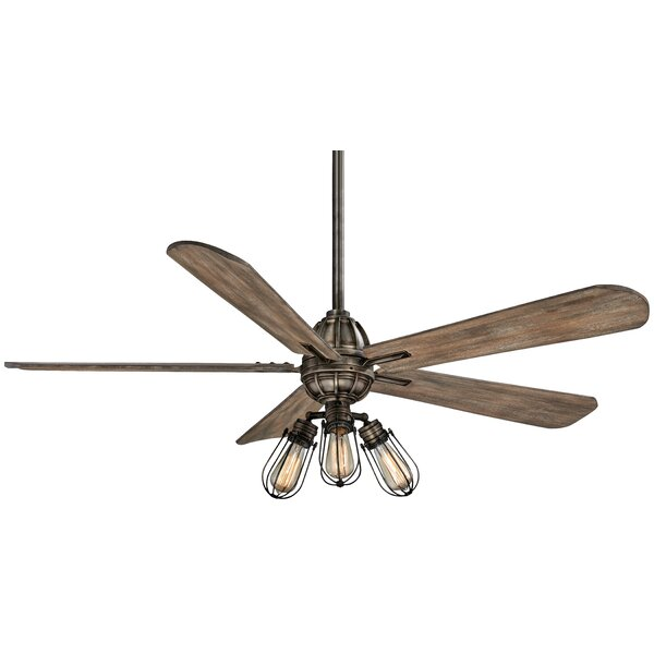 56 Alva 4 Blade Ceiling Fan with Remote by Minka Aire