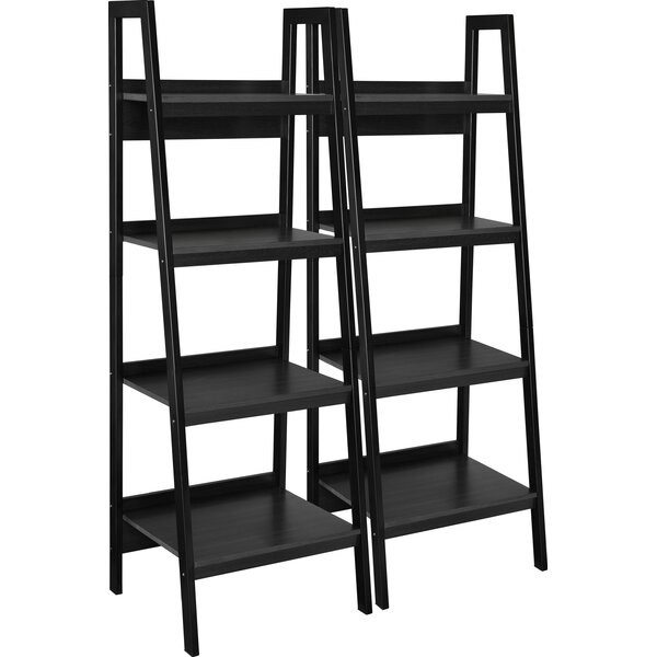 Rupert Ladder Bookcase (Set of 2) by Wrought Studio