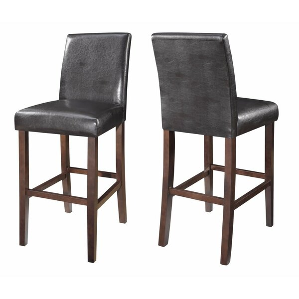 Gaitan Mid-Back 29 Bar Stool (Set of 2) by Red Barrel Studio
