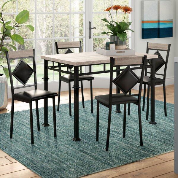 Tavarozzi 5 Piece Dining Set by Ebern Designs