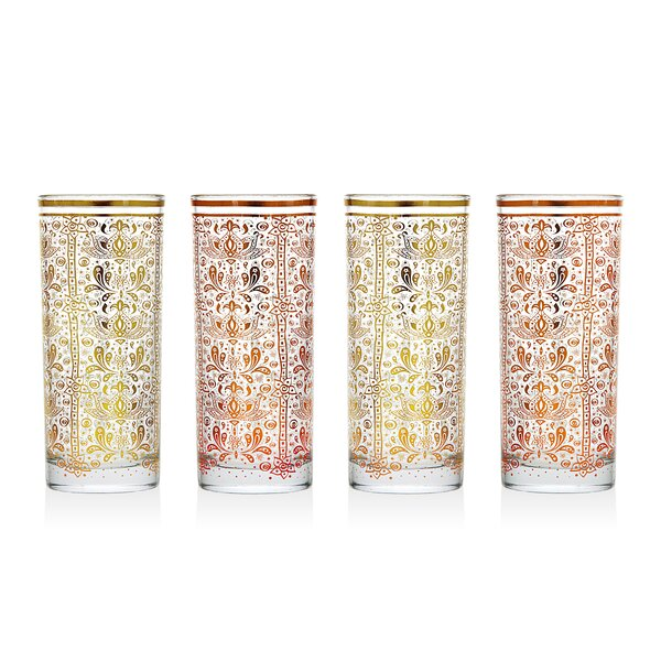 10 oz. Highball Glass (Set of 4) by Studio Silversmiths