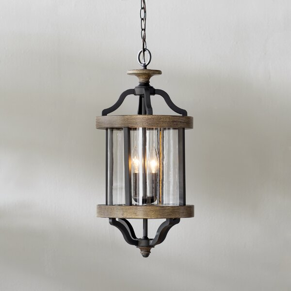 Elisabetta 2-Light Outdoor Pendant by Laurel Foundry Modern Farmhouse