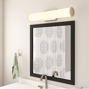 Rectangle Wood Framed Vanity Mirror