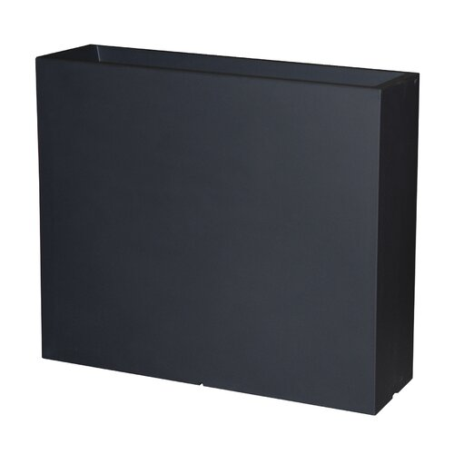 Alvarez Plastic Planter Box Sol 72 Outdoor Colour: Black