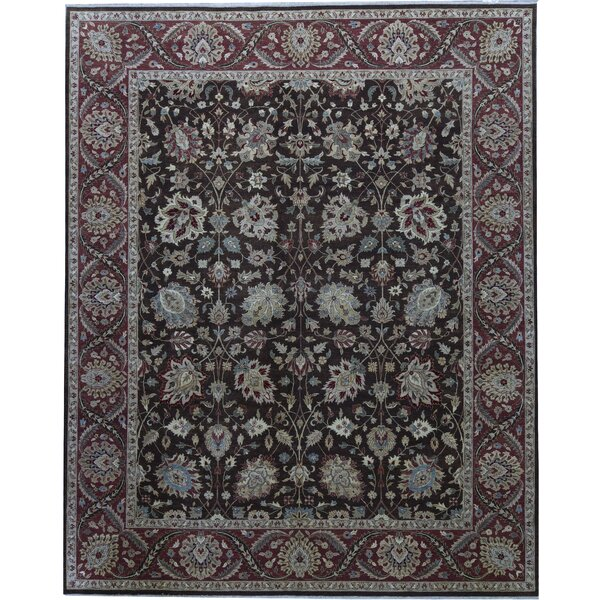 One-of-a-Kind Cantebury Hand-Knotted Black 11'11 x 14'10 Area Rug