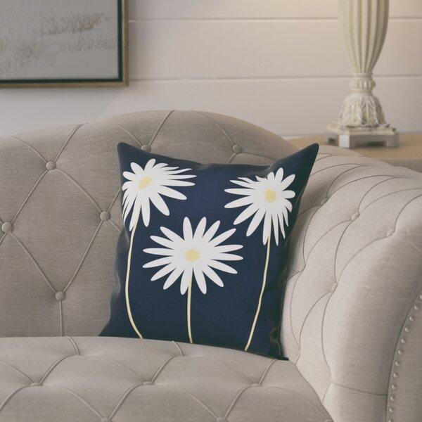 Omar Floral Print Throw Pillow by August Grove