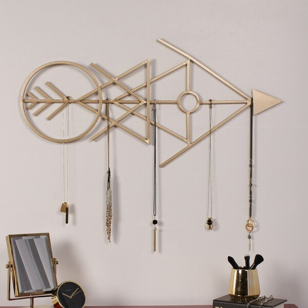 Benta Modern Arrow Metal Wall Décor by Kate and Laurel