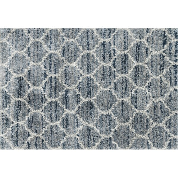 Flaherty Spa/Pebble Area Rug by Charlton Home