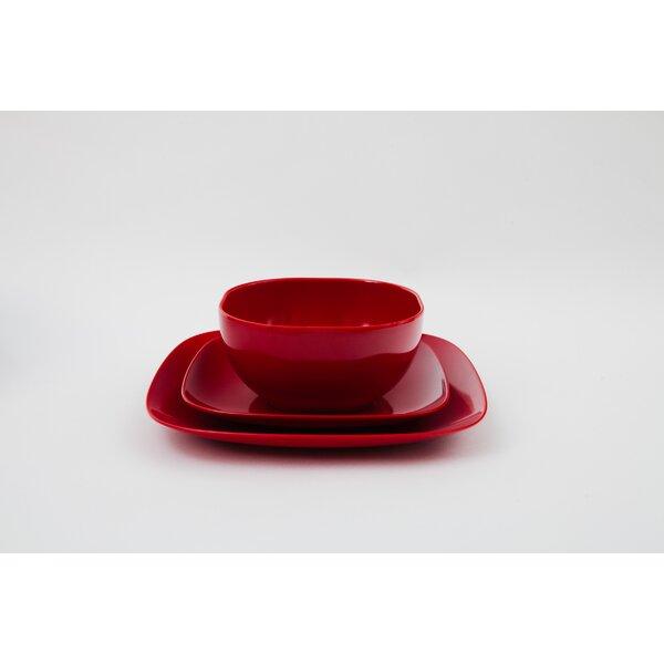 Vannatter 12 Piece Dinnerware Set by George Oliver