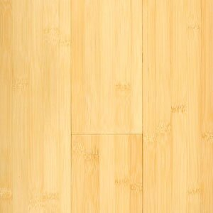 5-3/8 Engineered Bamboo Flooring in Natural Matte by Hawa Bamboo