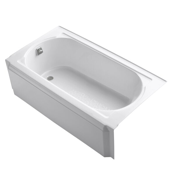 Memoirs 60 x 32 Alcove Soaking Bathtub by Kohler