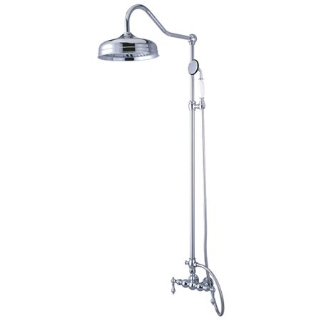 Diverter Hand Shower Combination with Metal Lever Handles by Elements of Design