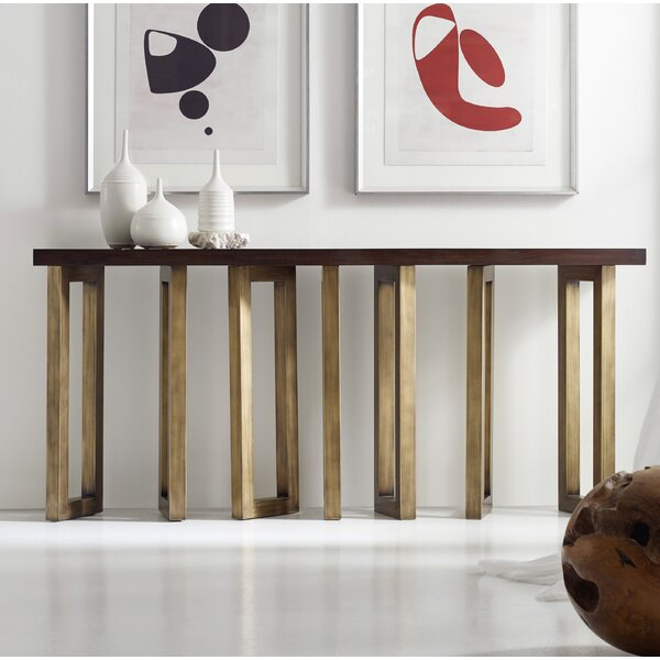 Melange Connelly Hall Console Table by Hooker Furniture Hooker Furniture