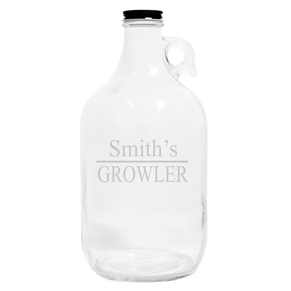 Personalized Home Brew Beer Growler by Cathys Concepts