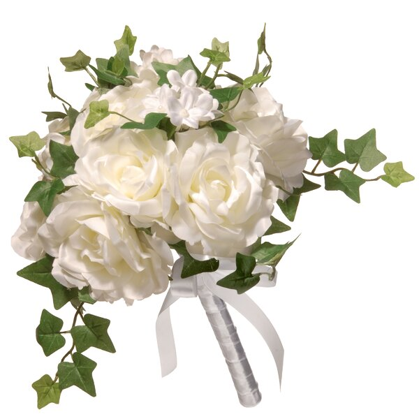 12 Rose Wedding Bouquet by National Tree Co.
