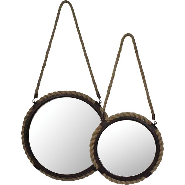 Cuthbert 2 Piece Wall Mirror Set by Selectives