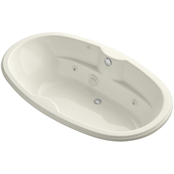 Proflex 72 x 42 Drop in Whirlpool Bathtub by Kohler
