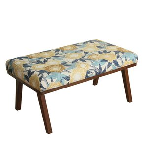 Bell Upholstered Bench by August Grove Compare Price