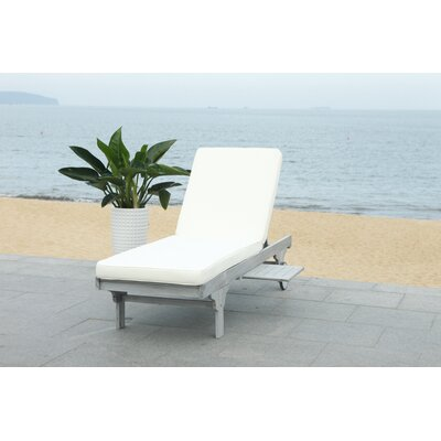 Grey Outdoor Chaise Amp Lounge Chairs You Ll Love In 2020