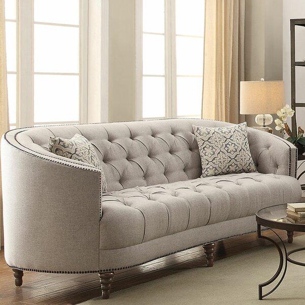 Destini Contemporary Sofa by Rosdorf Park