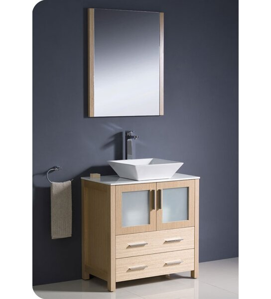 Torino 30 Single Bathroom Vanity Set with Mirror by Fresca