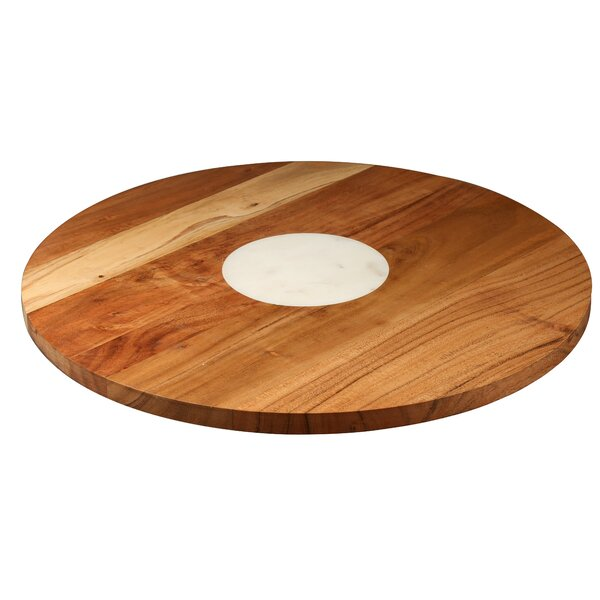 Acacia Lazy Susan by Thirstystone