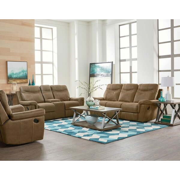 Mehar Reclining Configurable Living Room Set by Orren Ellis