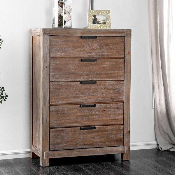 Atia 5 Drawer Chest by Gracie Oaks