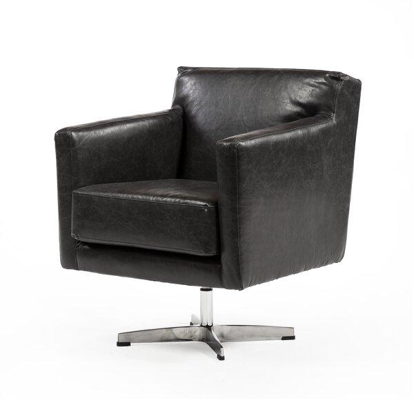 West Vero Swivel Upholstered Dining Chair by Brayden Studio