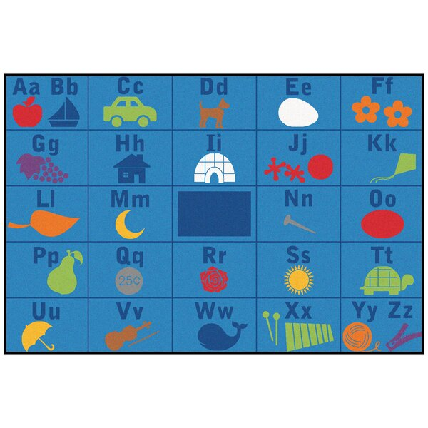 Value Plus Alphabet Seating Area Rug by Carpets for Kids