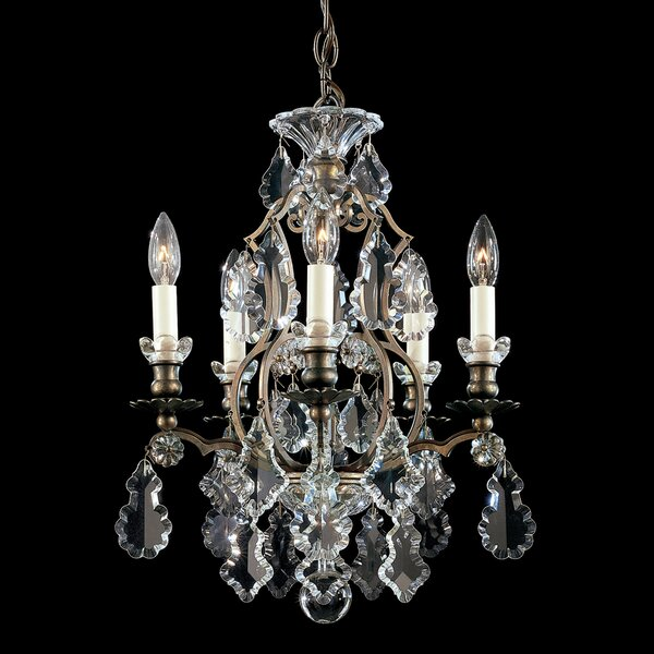 Versailles 5-Light Candle Style Chandelier by Schonbek