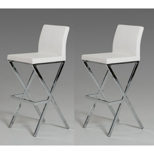 Belafonte 29.5 Bar Stool (Set of 2) by Wade Logan