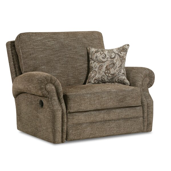 Cleek Handwoven Cuddler Recliner by Darby Home Co