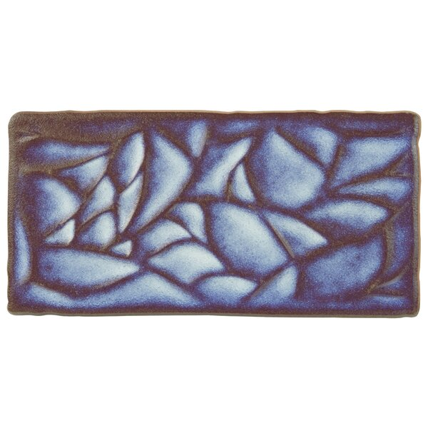 Antiqua Sensations 3 x 6 Ceramic Subway Tile in Glossy Blue by EliteTile