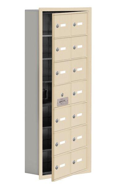 6 Tier 2 Wide EmpLoyee Locker by Salsbury Industries