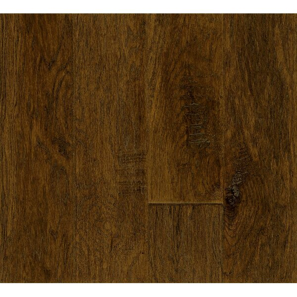 5 Engineered Hickory Hardwood Flooring in Deep Java by Armstrong Flooring