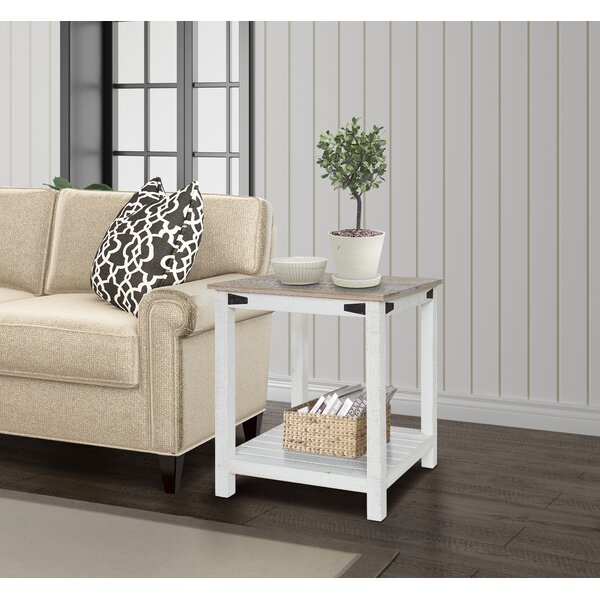 Poynor End Table by Gracie Oaks
