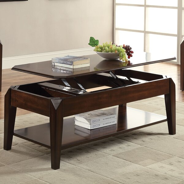 Docila Coffee Table with Lift Top by A&J Homes Studio