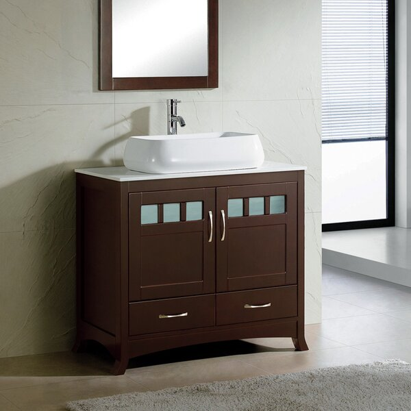 Rettig 36 Single Bathroom Vanity Set by Latitude Run
