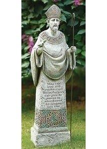 St Patrick Garden Statue