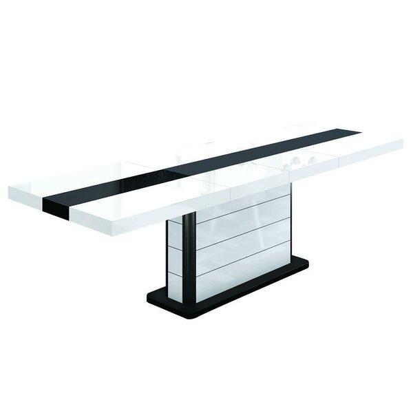 Merrell Extendable Dining Table by Orren Ellis