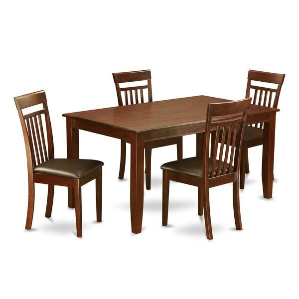 Dudley 5 Piece Dining Set By Wooden Importers Find