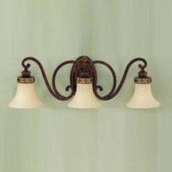 Edwardian 3-Light Vanity Light by Feiss