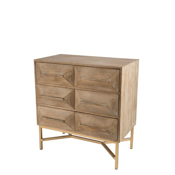 Corner 6 Drawer Accent Chest by Union Rustic