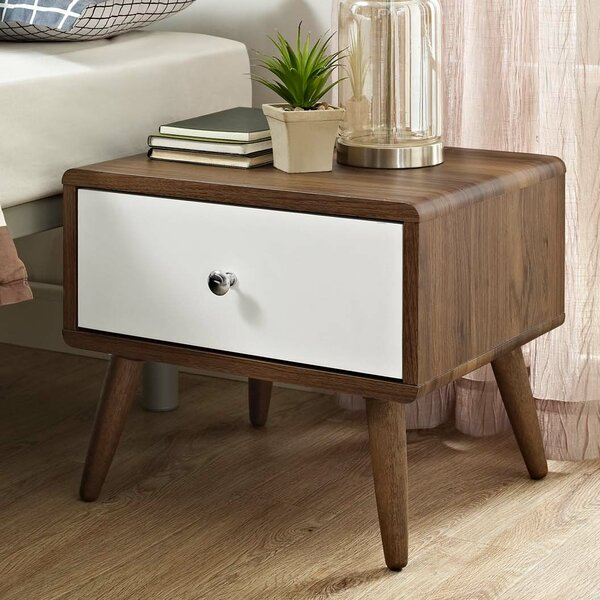 Chien 1 Drawer Nightstand by Corrigan Studio