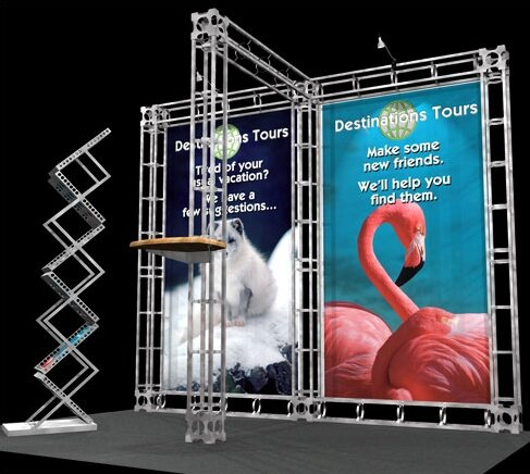 Pluto Expo Truss Kit by Exhibitor's Hand Book