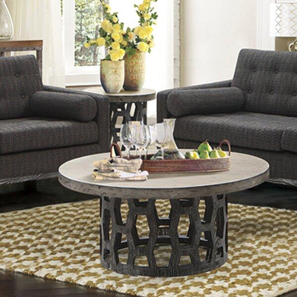 Brimfield Pedestal Coffee Table By Wrought Studio