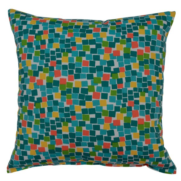 Cubix Throw Pillow by Creative Home