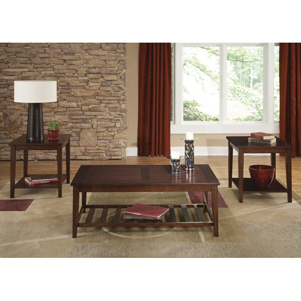 Missoula Occasional 3 Piece Coffee Table Set by Wi