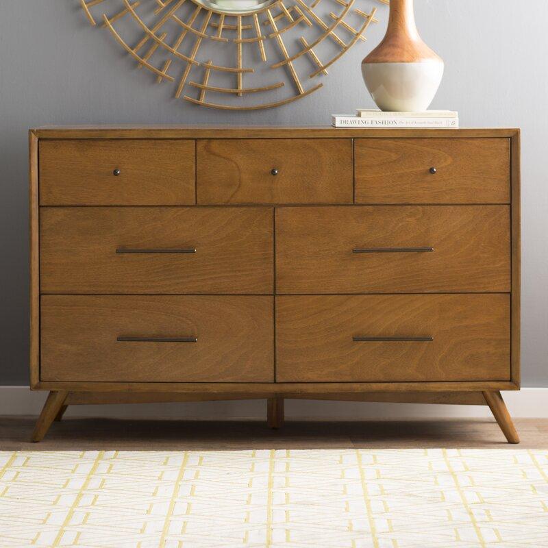 parocela 7 drawer dresser reviews birch lane